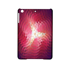 Fractal Red Sample Abstract Pattern Background Ipad Mini 2 Hardshell Cases