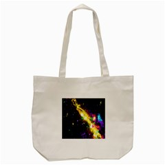 Galaxy Deep Space Space Universe Stars Nebula Tote Bag (cream)
