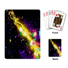 Galaxy Deep Space Space Universe Stars Nebula Playing Card by Amaryn4rt