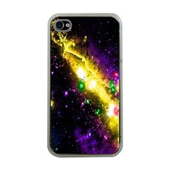 Galaxy Deep Space Space Universe Stars Nebula Apple Iphone 4 Case (clear) by Amaryn4rt