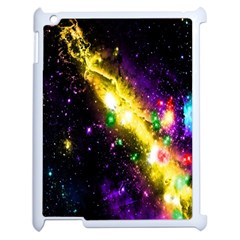 Galaxy Deep Space Space Universe Stars Nebula Apple Ipad 2 Case (white) by Amaryn4rt
