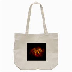 Galaxy Nebula Space Cosmos Universe Fantasy Tote Bag (cream)