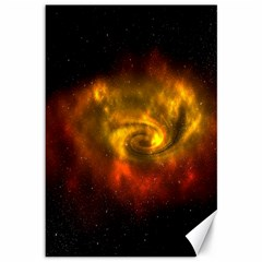 Galaxy Nebula Space Cosmos Universe Fantasy Canvas 12  X 18   by Amaryn4rt