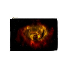 Galaxy Nebula Space Cosmos Universe Fantasy Cosmetic Bag (medium)  by Amaryn4rt