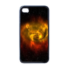 Galaxy Nebula Space Cosmos Universe Fantasy Apple Iphone 4 Case (black) by Amaryn4rt