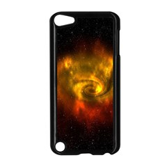 Galaxy Nebula Space Cosmos Universe Fantasy Apple Ipod Touch 5 Case (black) by Amaryn4rt