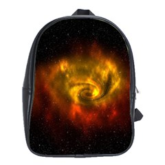 Galaxy Nebula Space Cosmos Universe Fantasy School Bags (xl)