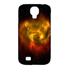 Galaxy Nebula Space Cosmos Universe Fantasy Samsung Galaxy S4 Classic Hardshell Case (pc+silicone) by Amaryn4rt