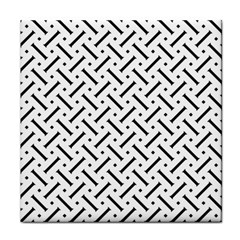 Geometric Pattern Tile Coasters