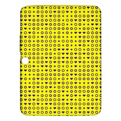 Heart Circle Star Seamless Pattern Samsung Galaxy Tab 3 (10 1 ) P5200 Hardshell Case  by Amaryn4rt