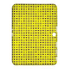 Heart Circle Star Seamless Pattern Samsung Galaxy Tab 4 (10 1 ) Hardshell Case  by Amaryn4rt