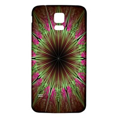 Julian Star Star Fun Green Violet Samsung Galaxy S5 Back Case (white) by Amaryn4rt