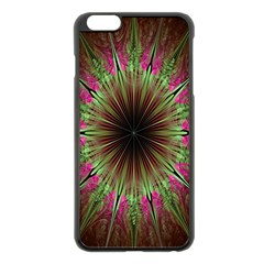 Julian Star Star Fun Green Violet Apple Iphone 6 Plus/6s Plus Black Enamel Case by Amaryn4rt