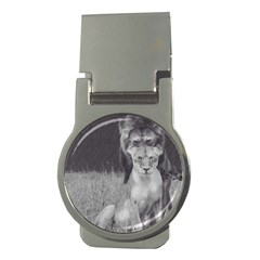 King And Queen Of The Jungle Design  Money Clips (round)  by FrontlineS