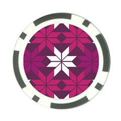 Pattern Background Texture Aztec Poker Chip Card Guard