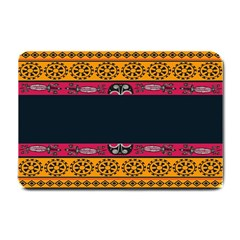 Pattern Ornaments Africa Safari Summer Graphic Small Doormat  by Amaryn4rt