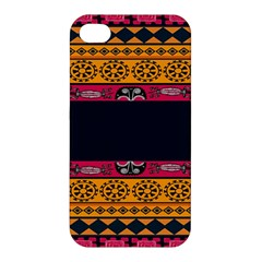 Pattern Ornaments Africa Safari Summer Graphic Apple Iphone 4/4s Hardshell Case
