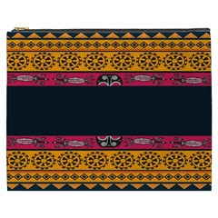 Pattern Ornaments Africa Safari Summer Graphic Cosmetic Bag (xxxl)  by Amaryn4rt