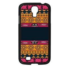 Pattern Ornaments Africa Safari Summer Graphic Samsung Galaxy S4 I9500/ I9505 Case (black) by Amaryn4rt