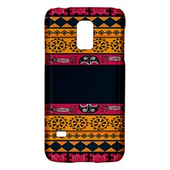 Pattern Ornaments Africa Safari Summer Graphic Galaxy S5 Mini by Amaryn4rt