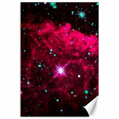 Pistol Star And Nebula Canvas 12  X 18   by Amaryn4rt