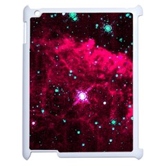 Pistol Star And Nebula Apple Ipad 2 Case (white) by Amaryn4rt