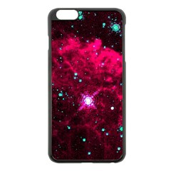 Pistol Star And Nebula Apple Iphone 6 Plus/6s Plus Black Enamel Case by Amaryn4rt