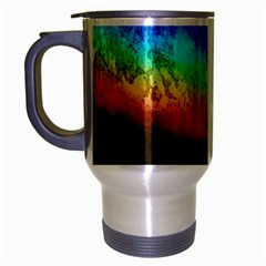 Rainbow Color Prism Colors Travel Mug (silver Gray)