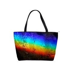 Rainbow Color Prism Colors Shoulder Handbags by Amaryn4rt