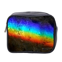Rainbow Color Prism Colors Mini Toiletries Bag 2 Side by Amaryn4rt