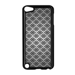 Silver The Background Apple Ipod Touch 5 Case (black) by Amaryn4rt