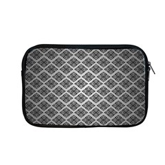 Silver The Background Apple Macbook Pro 13  Zipper Case