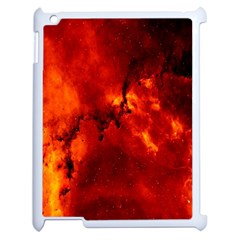 Star Clusters Rosette Nebula Star Apple Ipad 2 Case (white) by Amaryn4rt