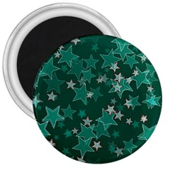 Star Seamless Tile Background Abstract 3  Magnets