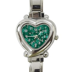 Star Seamless Tile Background Abstract Heart Italian Charm Watch