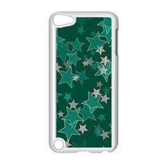 Star Seamless Tile Background Abstract Apple Ipod Touch 5 Case (white) by Amaryn4rt