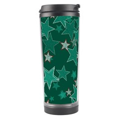 Star Seamless Tile Background Abstract Travel Tumbler