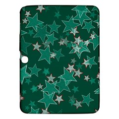 Star Seamless Tile Background Abstract Samsung Galaxy Tab 3 (10 1 ) P5200 Hardshell Case