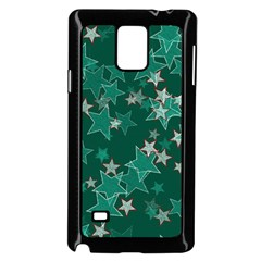 Star Seamless Tile Background Abstract Samsung Galaxy Note 4 Case (black) by Amaryn4rt