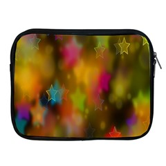 Star Background Texture Pattern Apple Ipad 2/3/4 Zipper Cases