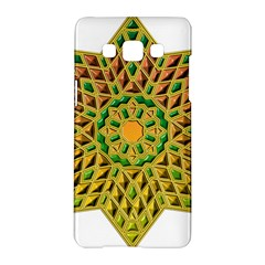Star Pattern Tile Background Image Samsung Galaxy A5 Hardshell Case  by Amaryn4rt