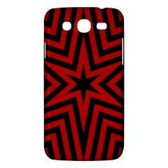 Star Red Kaleidoscope Pattern Samsung Galaxy Mega 5 8 I9152 Hardshell Case  by Amaryn4rt