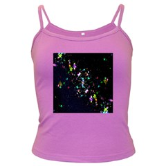 Star Structure Many Repetition Dark Spaghetti Tank