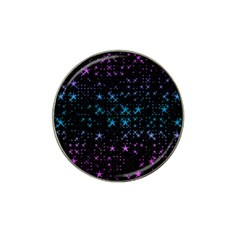 Stars Pattern Seamless Design Hat Clip Ball Marker by Amaryn4rt
