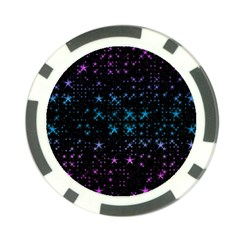 Stars Pattern Seamless Design Poker Chip Card Guard (10 Pack) by Amaryn4rt