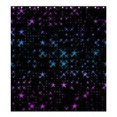 Stars Pattern Seamless Design Shower Curtain 66  X 72  (large)  by Amaryn4rt