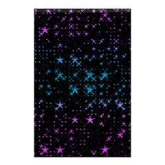Stars Pattern Seamless Design Shower Curtain 48  X 72  (small)  by Amaryn4rt