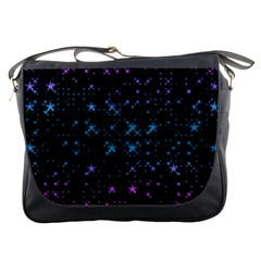 Stars Pattern Seamless Design Messenger Bags by Amaryn4rt