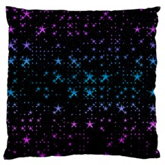Stars Pattern Seamless Design Standard Flano Cushion Case (two Sides) by Amaryn4rt