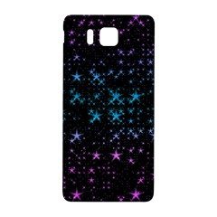 Stars Pattern Seamless Design Samsung Galaxy Alpha Hardshell Back Case by Amaryn4rt